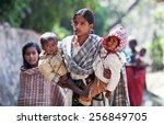 kathmandu  nepal   november 8 ... | Shutterstock . vector #256849705