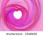 Abstract Romantic Pink Loving...