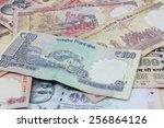 indian rupee   Shutterstock . vector #256864126