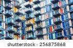 urban life symbol  densely... | Shutterstock . vector #256875868
