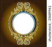 ornate frame | Shutterstock .eps vector #25689961
