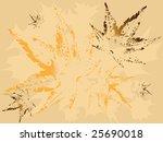 autumn wallpaper pattern with... | Shutterstock . vector #25690018