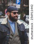 milan  italy   february 27  man ... | Shutterstock . vector #256911442