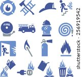 Fire Related Icons.