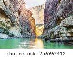 Santa Elena Canyon And Rio...