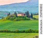 Beautiful Tuscany Landscape At...