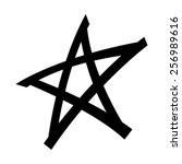 star vector icon | Shutterstock .eps vector #256989616
