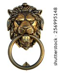 Bronze Lion Door Knocker...