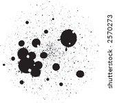vector ink spots | Shutterstock .eps vector #2570273
