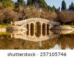 Stone Arch Bridge In Yunnan...
