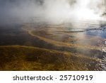 geothermal pool in yellowstone | Shutterstock . vector #25710919