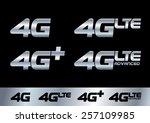 4g   Shutterstock .eps vector #257109985
