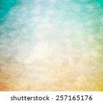 grunge paper texture. vintage... | Shutterstock . vector #257165176