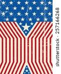 usa design d. a grunge american ... | Shutterstock .eps vector #257166268