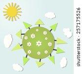 vector illustration of a...   Shutterstock .eps vector #257175526