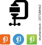 C Clamp Symbol For Download....