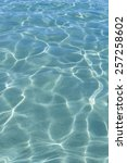 vibrant turquoise water ripples ... | Shutterstock . vector #257258602