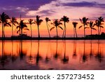 Paradise Beach Sunset Landscap...
