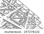 building 3d structure.... | Shutterstock .eps vector #257278132