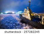 The Icebreaker Ship Trapped In...