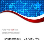 abstract image of the american... | Shutterstock .eps vector #257350798