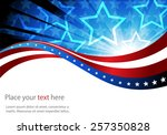 abstract image of the american... | Shutterstock .eps vector #257350828