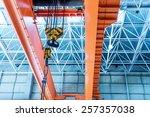 inside large factories  bridge... | Shutterstock . vector #257357038