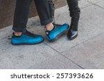 milan  italy   february 28 ... | Shutterstock . vector #257393626