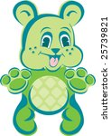 baby bear | Shutterstock .eps vector #25739821