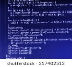 digital technology background.... | Shutterstock . vector #257402512