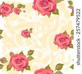 floral design | Shutterstock .eps vector #257479522