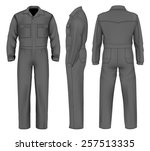 men's overalls design templates ...