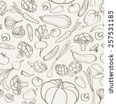 food ingredient seamless...   Shutterstock .eps vector #257531185