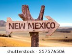New Mexico Wooden Sign With A...