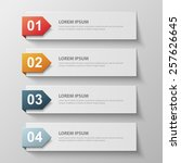 design clean template for...   Shutterstock .eps vector #257626645