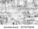 black and white old texture | Shutterstock . vector #257670646