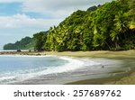 corcovado national park   beach ... | Shutterstock . vector #257689762