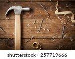 Carpenter Hammer  Nail And...
