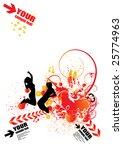 vector illustration of abstract ... | Shutterstock .eps vector #25774963