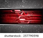 red color light abstract... | Shutterstock .eps vector #257790598