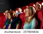cinema  entertainment and... | Shutterstock . vector #257804836