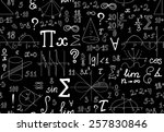 vector mathematical seamless... | Shutterstock .eps vector #257830846