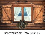 Tipical Rustic Window Chalet...