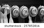 workshop for making hats in the ...   Shutterstock . vector #257852816