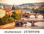 Beautiful View To Vltava And...
