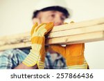 repair  building and home... | Shutterstock . vector #257866436