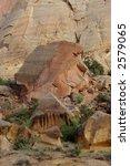 Large Sandstone Boulder In...
