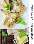 Ricotta Stuffed Zucchini...
