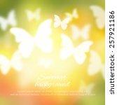 abstract shining spring summer... | Shutterstock .eps vector #257921186