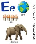 Letter E For Earth  Eggs And...